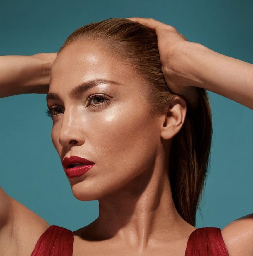 Jennifer Lopez för INglot har en hudtyp