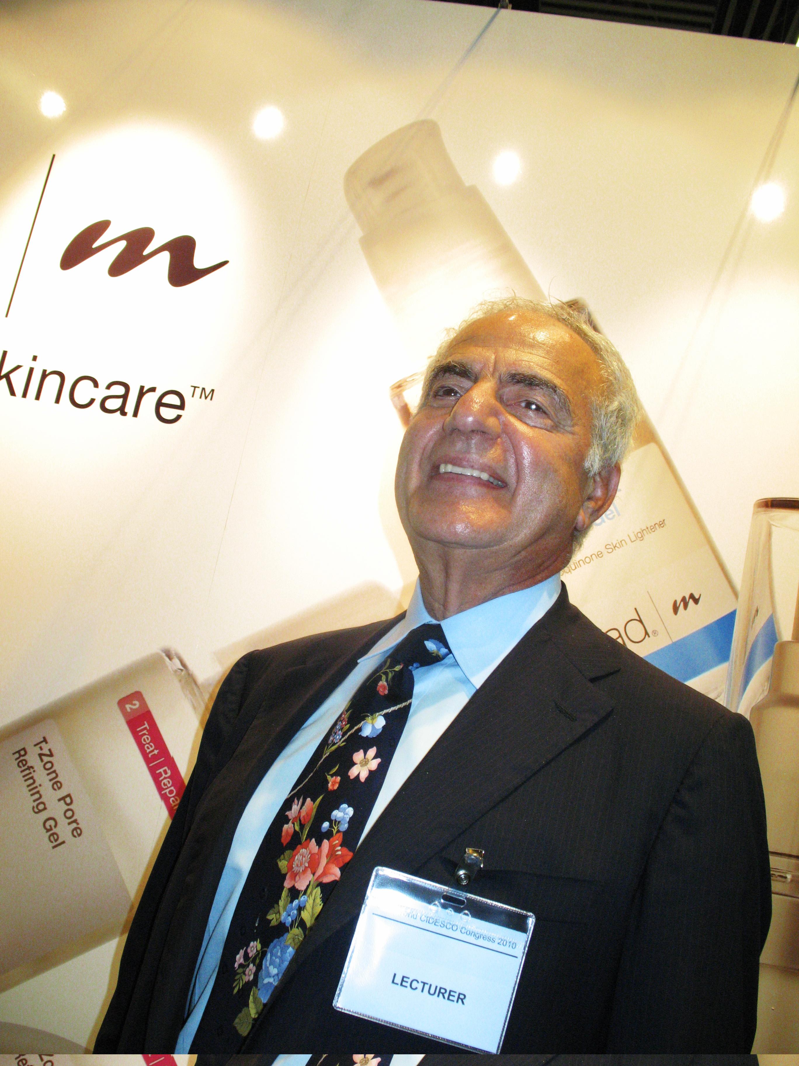 Howard Murad var pionjär när det kommer till doktorsrelaterad hudvård