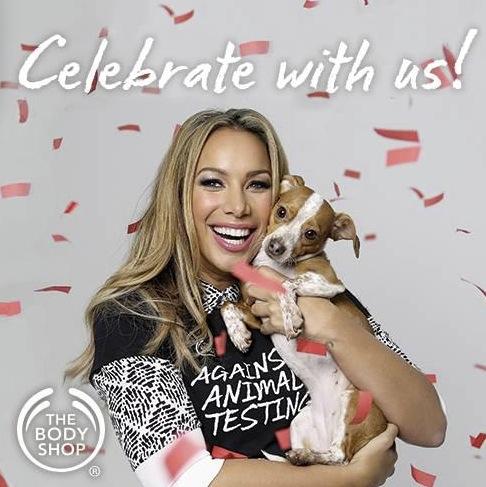 Sångerskan Leona Lewis gillar djur. Det gör vi också