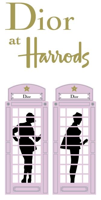 Dior tar över Harrods i en  specialskytning från den 16 mars till 14 april 2013