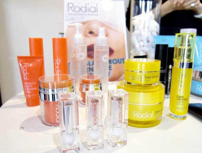 Rodials nya färglada produktserie.