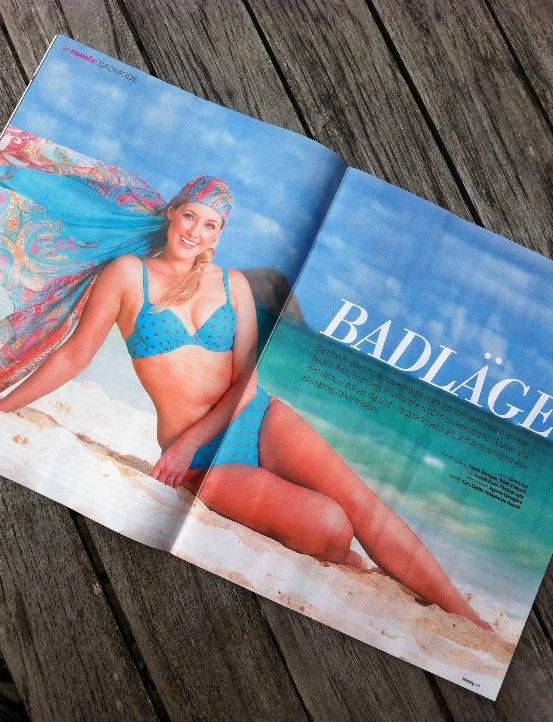 Aftonbladets bikiniplåtning på Hawaii ute nu. 19 -25 maj 2013