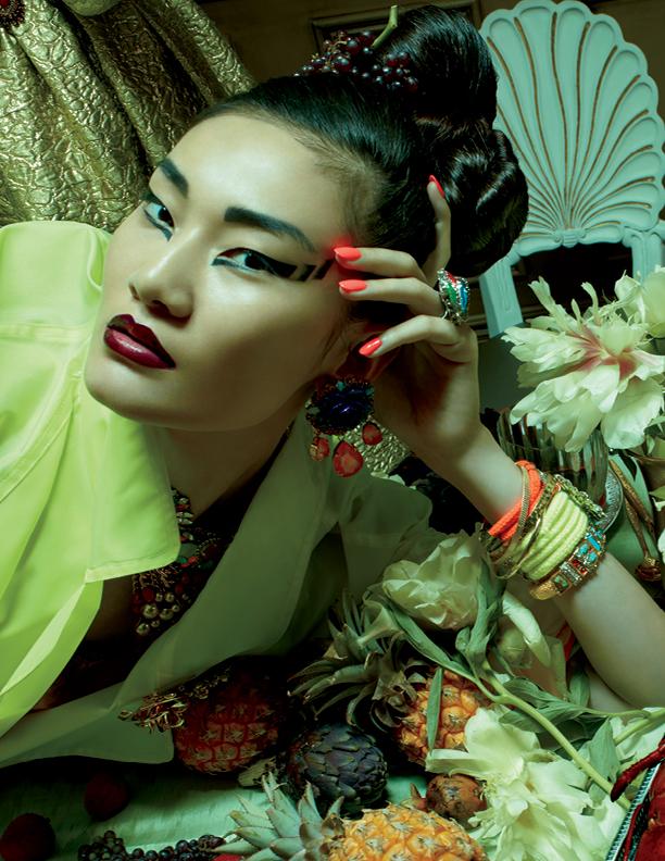 """Asiatisk touch på den här makeupen från MAC:s höstlook """"Indulge"""""""