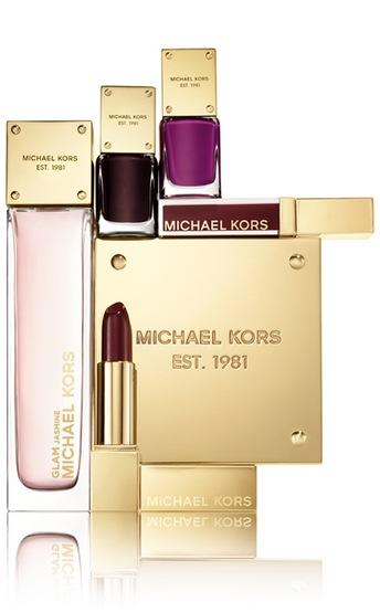 Michael Kors lanserar sin make-up och parfym i Sverige i oktober