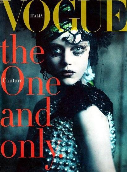 Frida i Italienska Vogue 2011