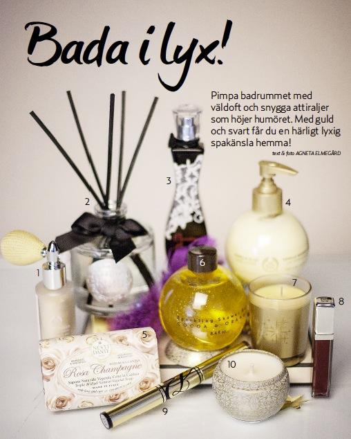 Glitter, mysdoft och flärd. Här är mina nyårsfavoriter 2013/14 Foto: Agneta Elmegård för Härligt Hemma