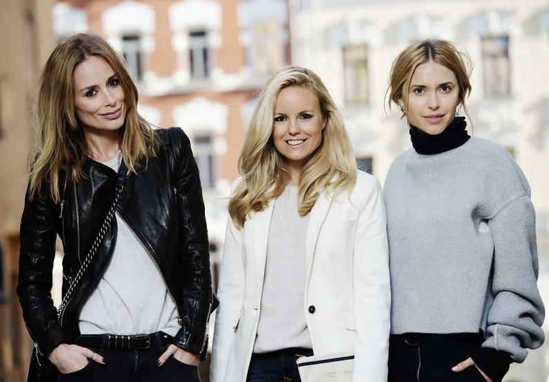 Tre storbloggare frontar The Youway. Anine Bing, Sofis Fahrman och danskan Pernille Teisbaek