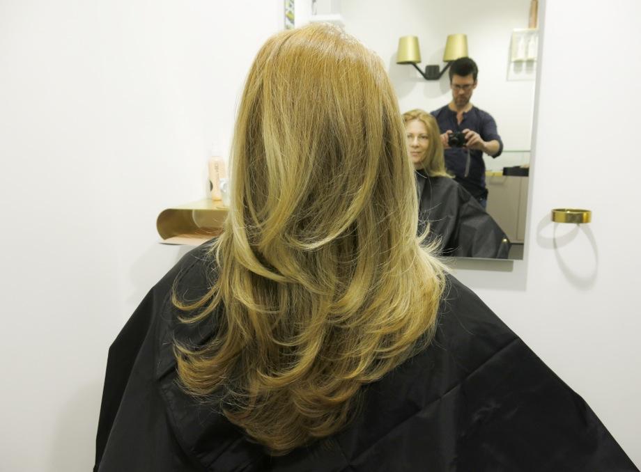 Resultatet av mineralfärgningen blir klart godkänt. Håret blir jämnt färgat, extremt mjuk och med en fin naturlig färg
