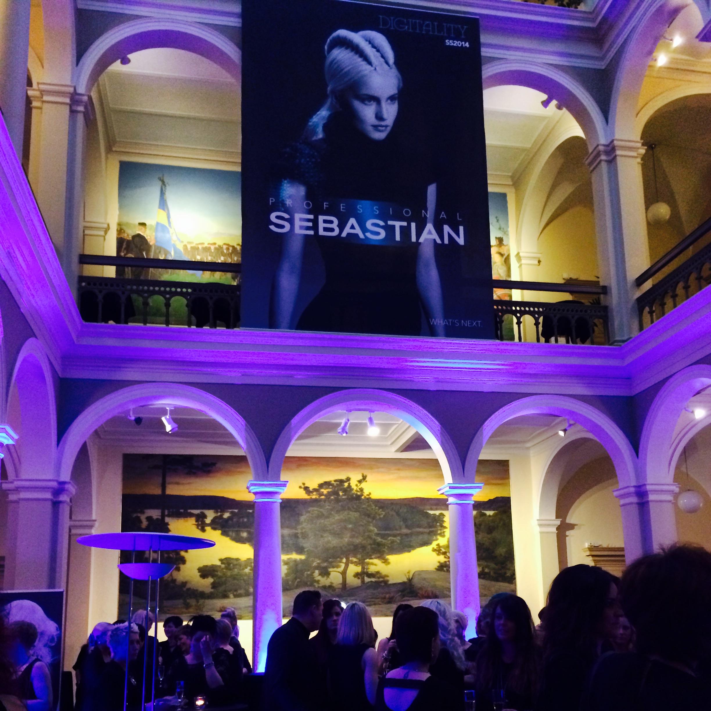 Sebastian Professional från USA valde att lägga sin storstilade 40-åsfest i Norra Latin i Stockholm