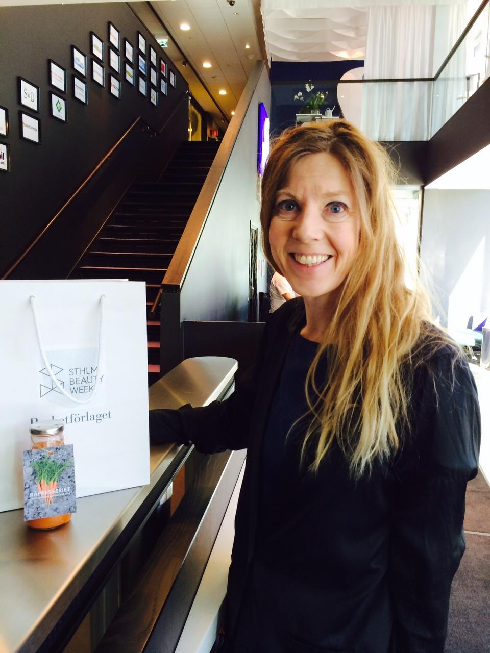 Maria Forssen äger So Stockholm i Kungsträdgården där skönhetsdagarna kommer att ha sitt epicenter