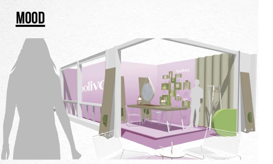 Apolivas pop-upstor kommer att vara öppen i en månad och tillgänglig för alla som vill bli mejkade för en billig peng.