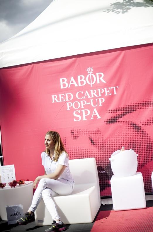 Babors Red Carpet Pop Up Spa är det första i världen!