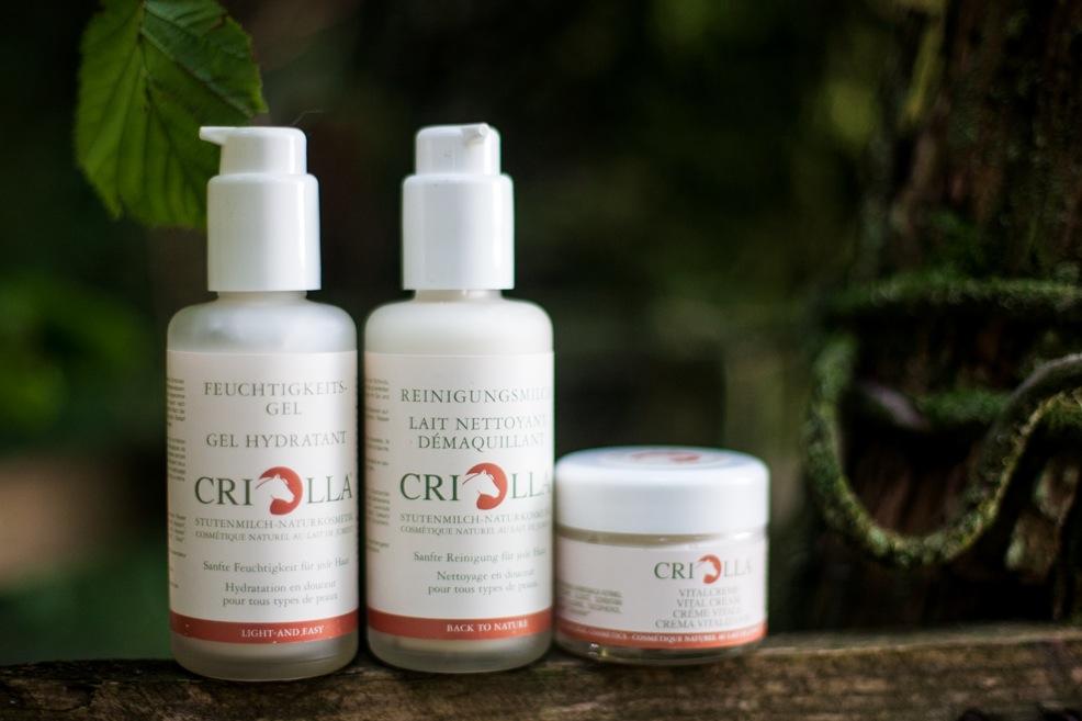Criolla, nytt ekologiskt märke med mjölksyra från stomjölk. Cleopatra ler väl i himlen?