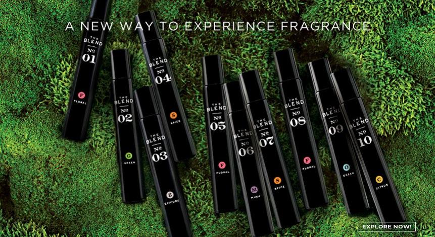 Amerikanska Fred Segal satsar på parfymer som du själv blandar ihop till en unik doft!