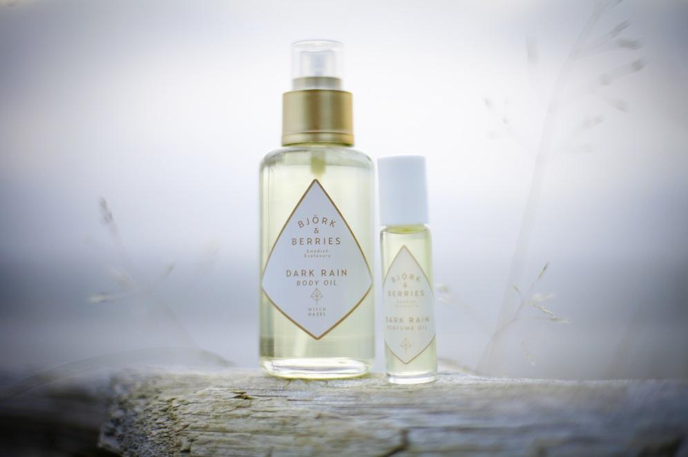 Svenska Björk&Berries inspireras av höstens regn i sin andra parfymolja.