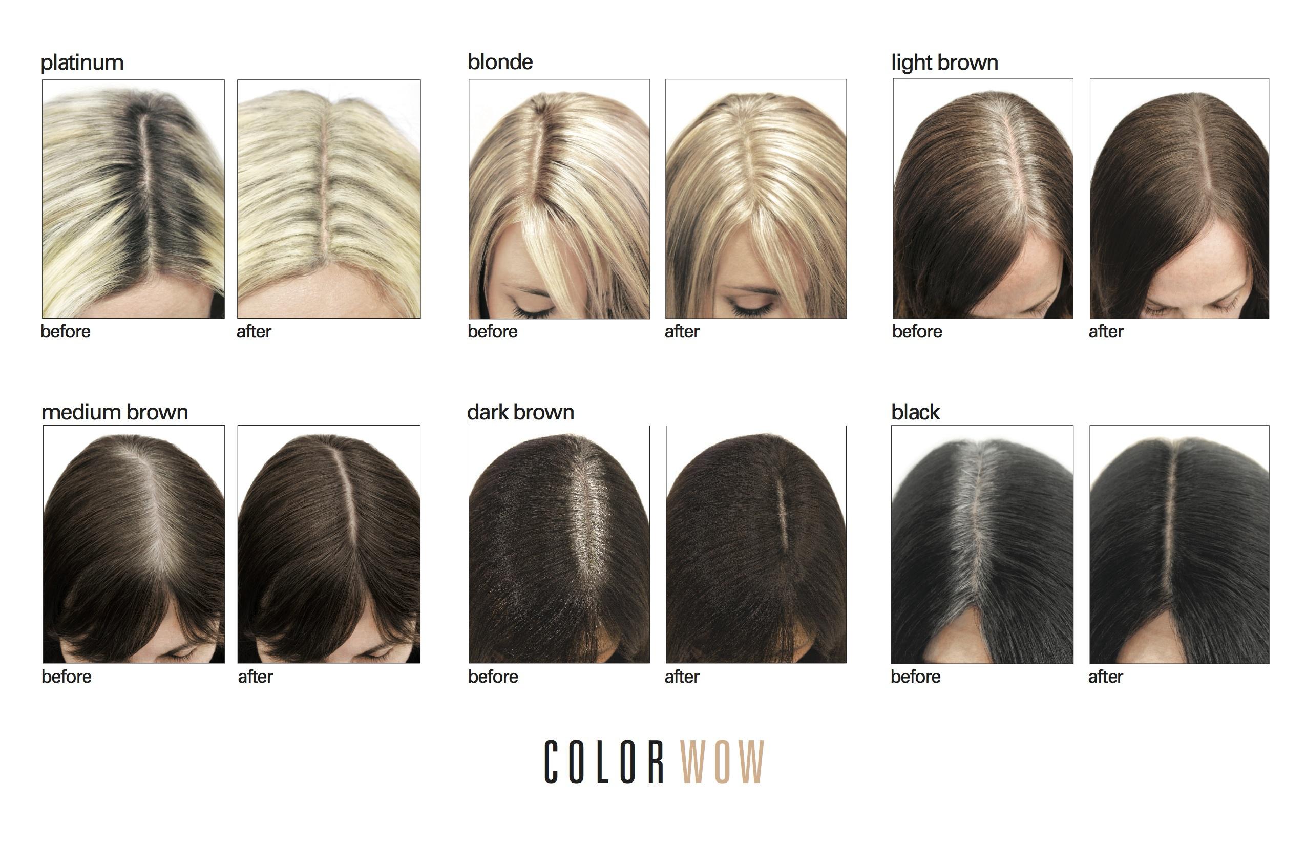 färga bort grått hår
