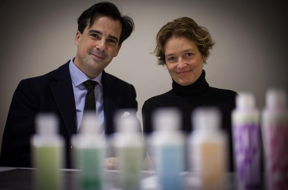 Skaparna bakom konceptet Eau D'Italie är Sebastian Alvare Murena och Marina Sersale från Italien
