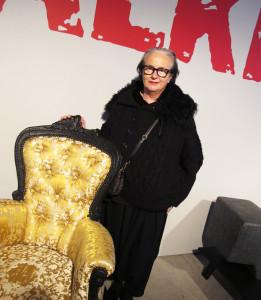 Li Edelkoort från Trend Union åker världen runt och föreläser om sina framtidsvisioner inom mode, skönhet och arkitektur.  Foto Agneta Elmegård