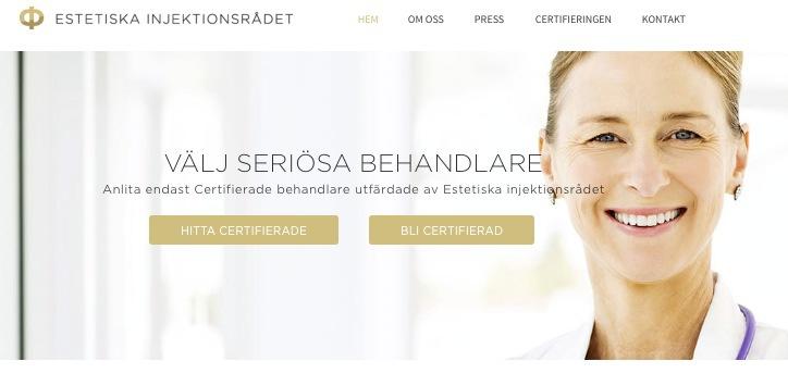 Ny sajt lanserad för att göra den estetiska skönhetsbranschen säkrare.