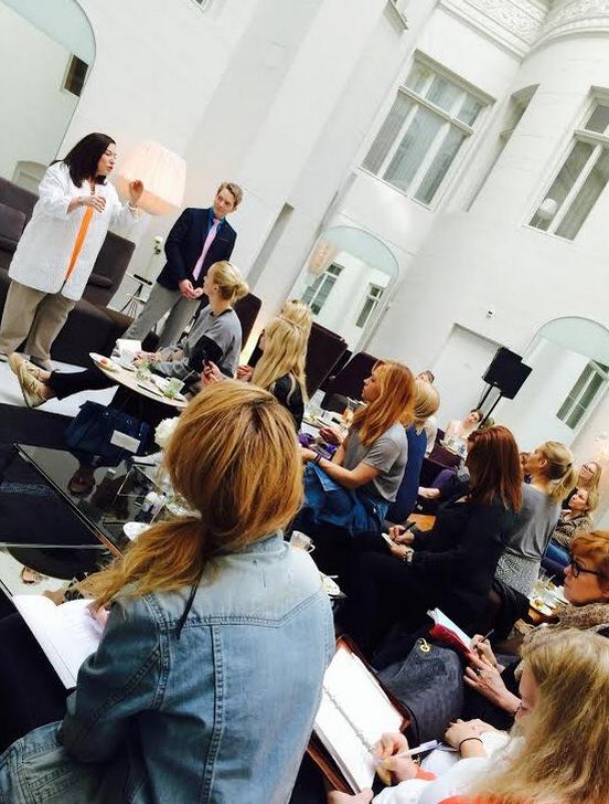 Välbesökt pressträff på Nobis i Stockholm