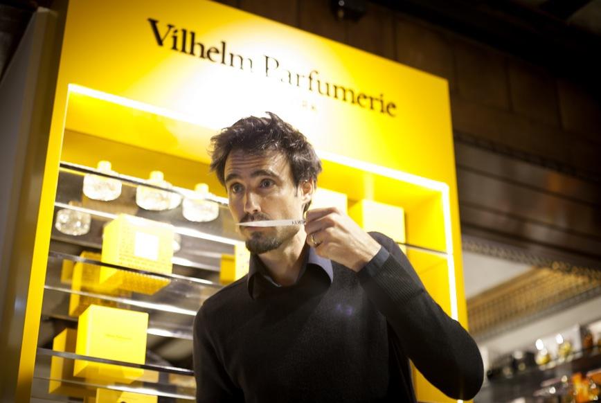 Vilhelm Parfymerie finns på tre ställen i världen. London, New York och Paris