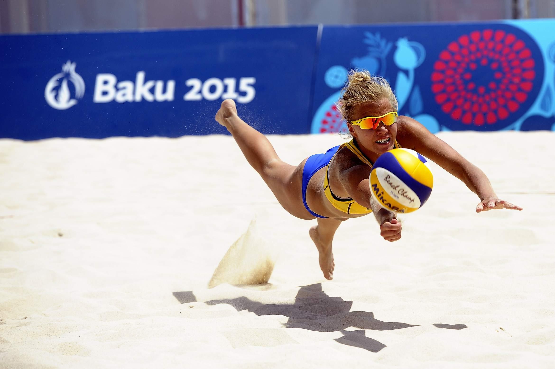Beachvolley är en högrisksport när det kommer till hudcancer.