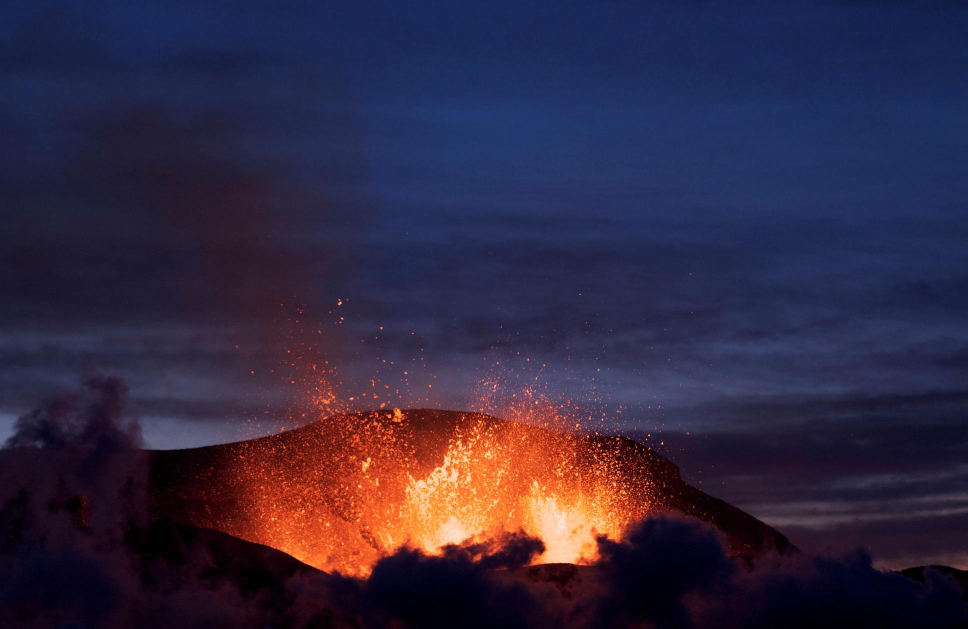 Eyjafjallajökull är bara en av många vulkaner runt om i världen som levererar mineralrik vulkansand till skönhetsprodukter. Bild från Wikipedia