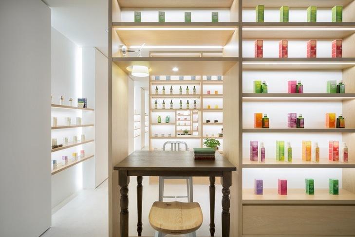 Livsstilsconceptet Nendo är utformat som ett Beauty Library där du kan lära dig sambandet mellan att äta rätt och bra hudvård.