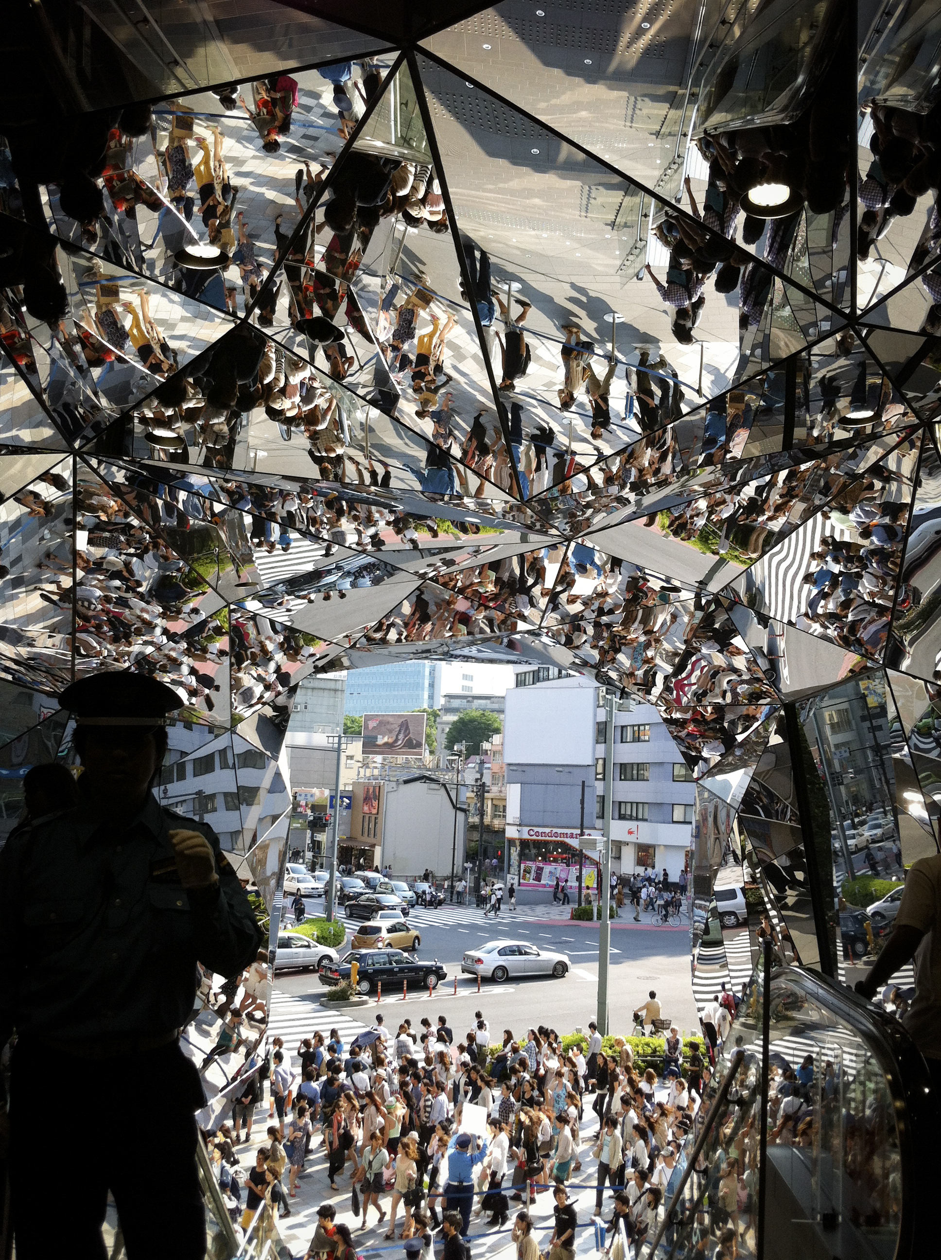 Den spejsade entre´n till Tokyo Plaza. Foto: Agneta Elmegård