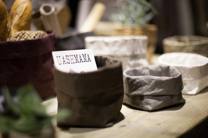 Tvättbara papperspåsar från Italienska Uashmama.