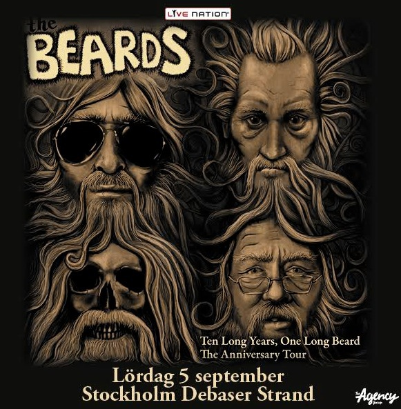 Australiens skäggigaste band, Beards, drar i strängarna på gurorna.