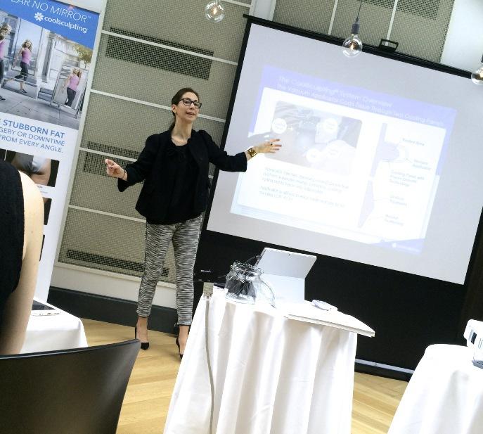 I Sverige är Anna Abtahi och Maria Molen ansvariga för Coolsculpting