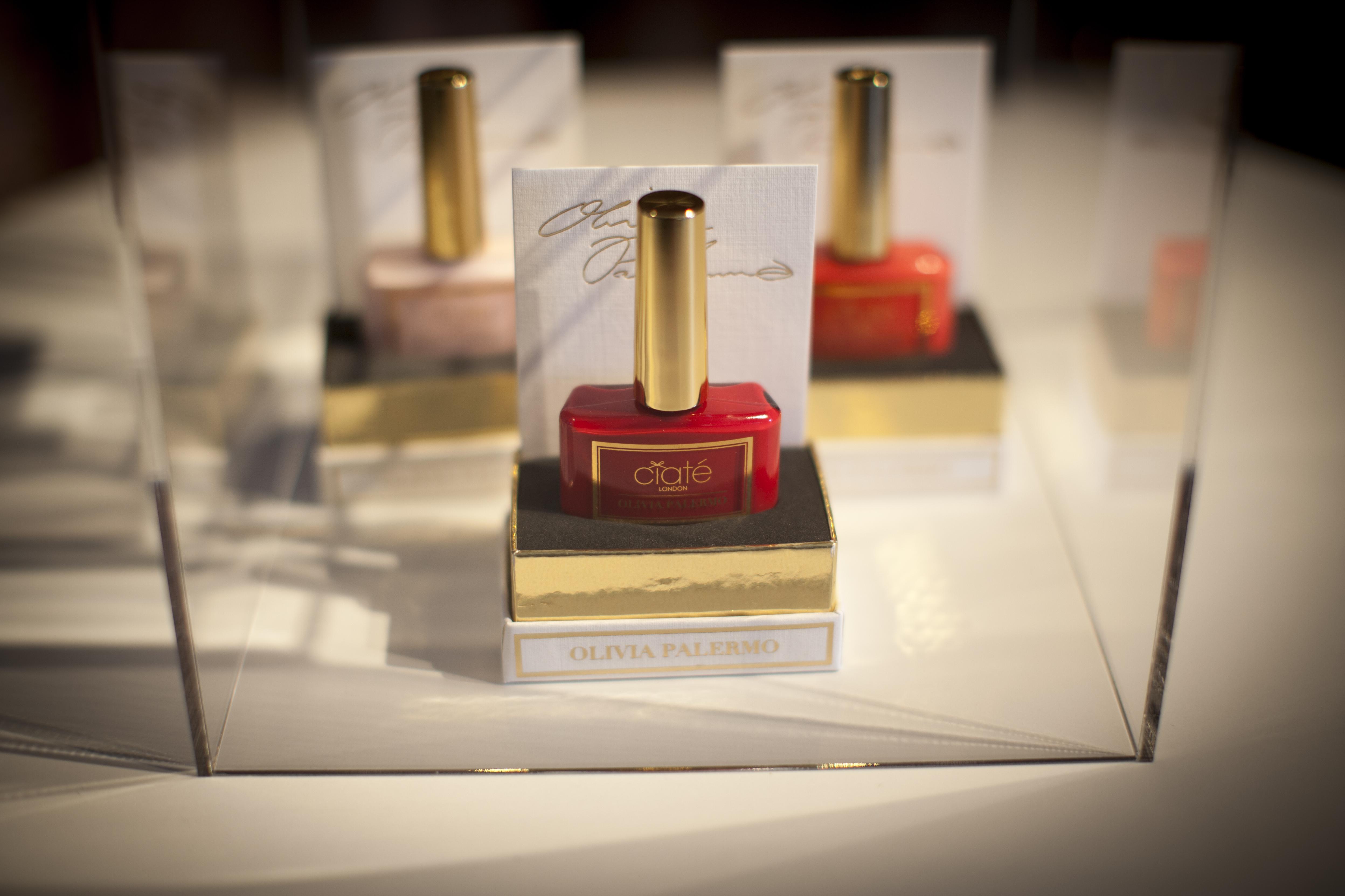 Haute Couturenagellacker i fem olika färger från Olivia. 250 kr styck.