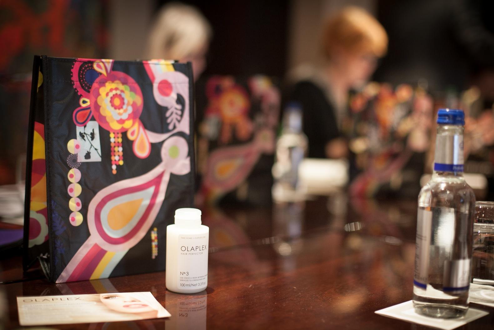 Presentation av Olaplex på Daisy Beautys konferens i London 2015
