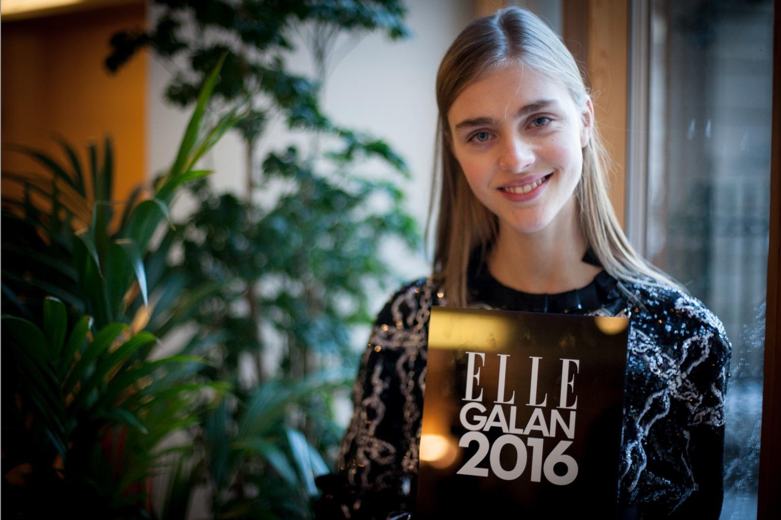 Modellen Hedvig Palm är vår nästa supermodellexport. Foto: Agneta Elmegård