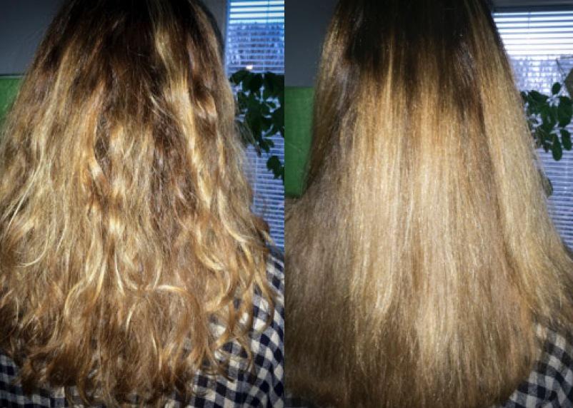Dafni stylinverktyg. Snabbare än blixten om du vill ha bort frisset och ett rakare hår.