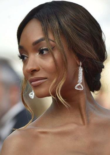 Brittiska modellen Jourdan Dunn Foto:AFP