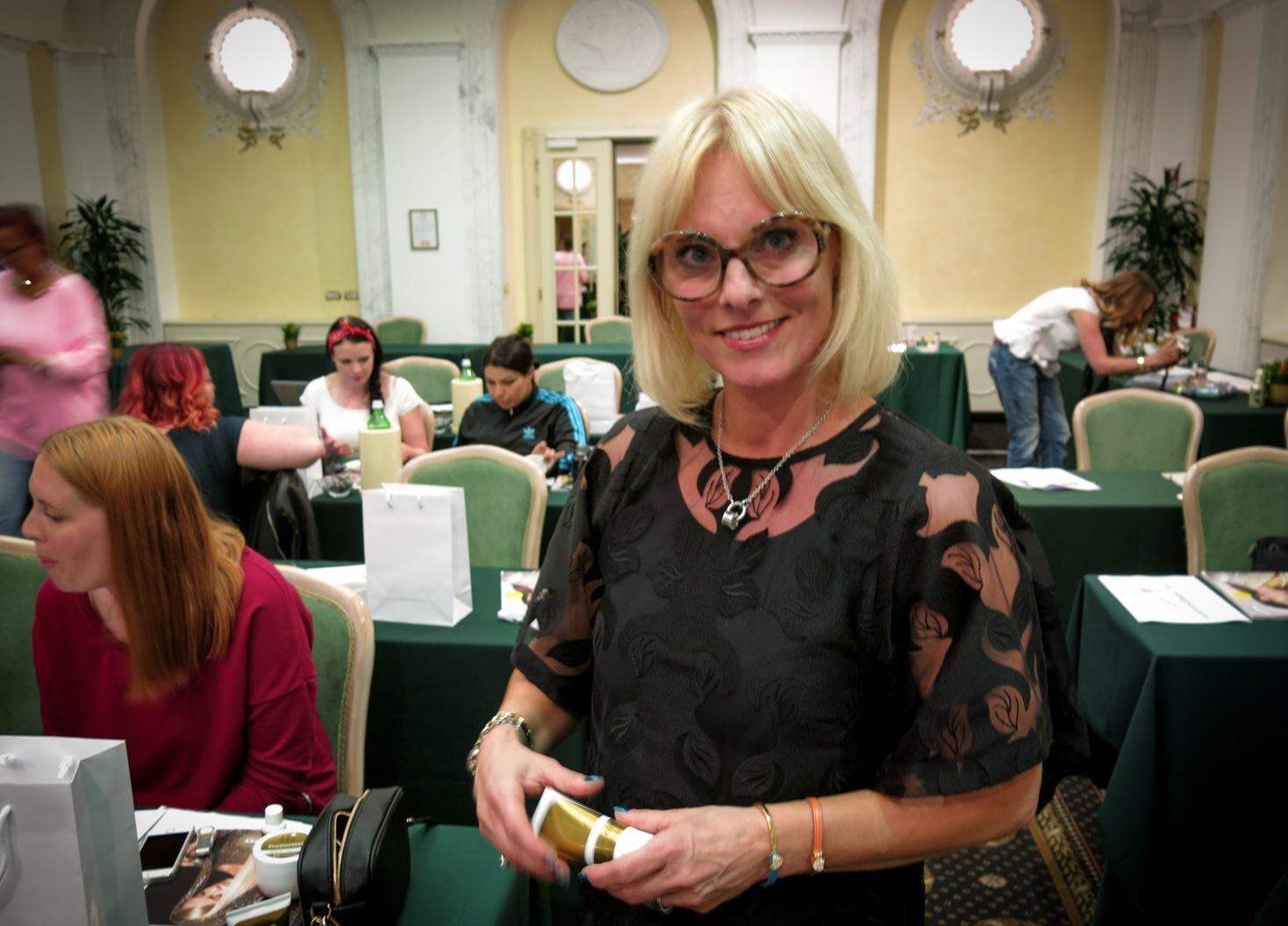 Linda Beronius är marknadsansvarig på Grazette i Göteborg