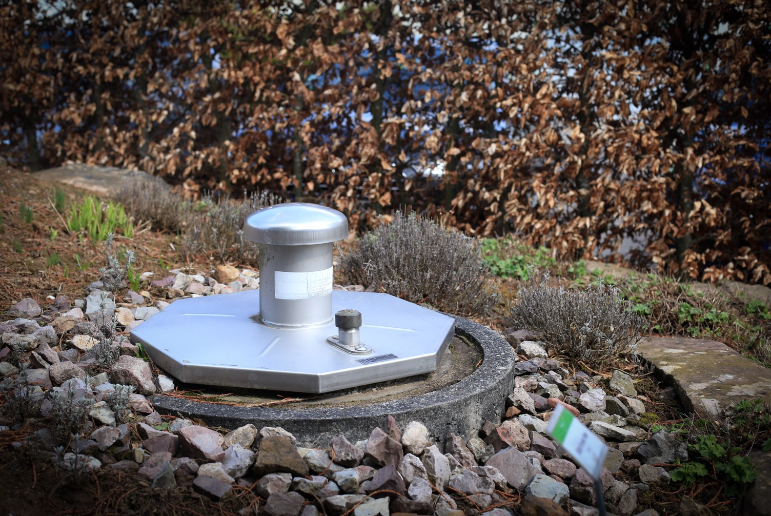 Källan där Anne marie Börlind tar sitt vatten till produkterna är belägen 160 meter under jordytan