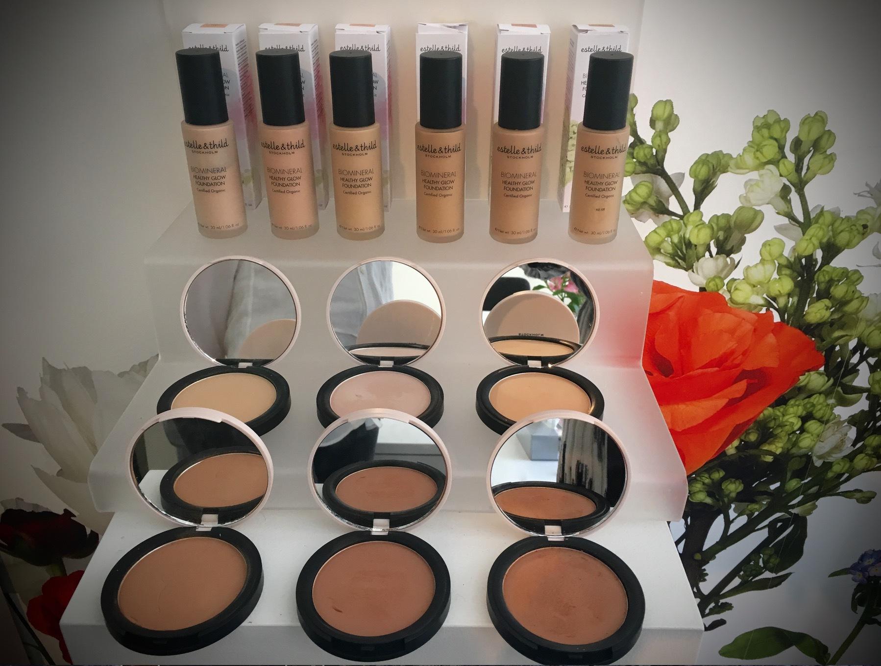 Ekocertifierat bra smink är man inte bortskämd med. Estelle & Thild har 65 olika artiklar i sin nylanserade makeupserie med både matta och skimrande produkter