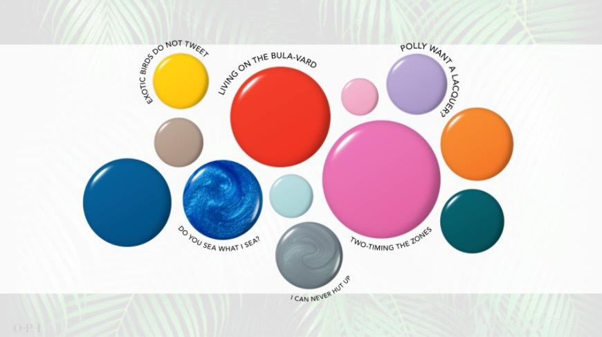 OPI har åkt till Fiji för att hämta inspiration till sommarens nagellacksfärger