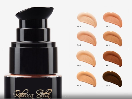 Rebeccas egna favorit i sin makeupserie. All about the base