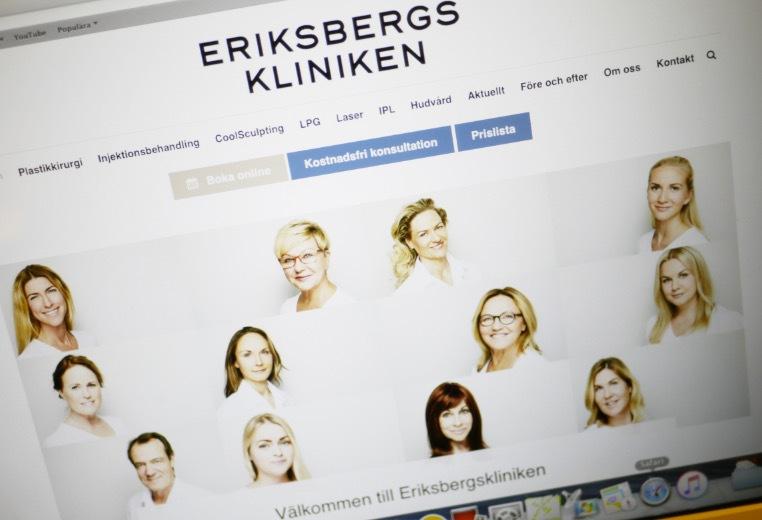 Bra och kunnigt gäng på Eriksbergskliniken där jag går och får massage hos Lena H en gång i månaden