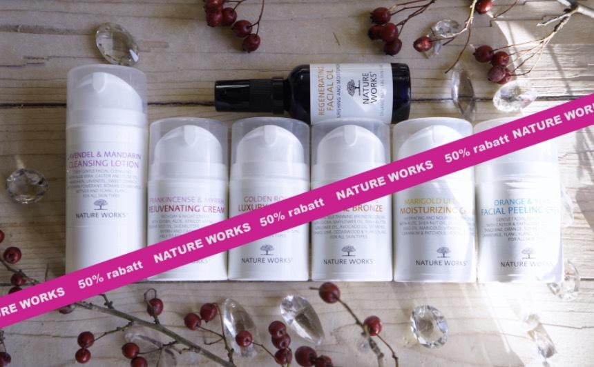 Nature Works är ett svenskt ekologiskt märke som tillverkar hud- och hårvårdsprodukter utan onödiga tillsatser