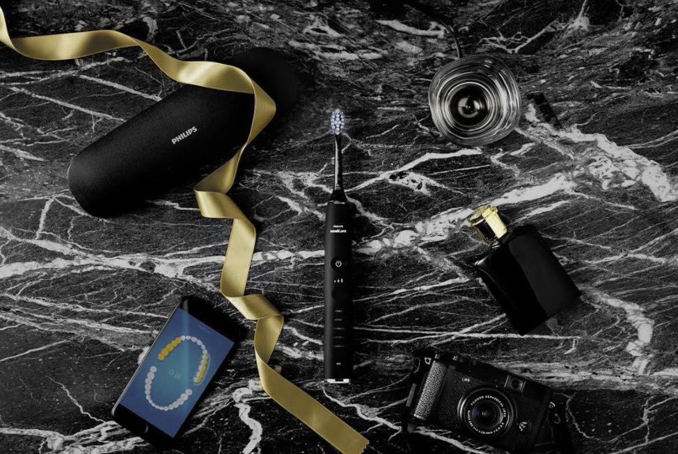 Philips Sonicare Diamond Clean Smart kopplas till smartphonen och du får en digital bild på hur du borstat dina tänder
