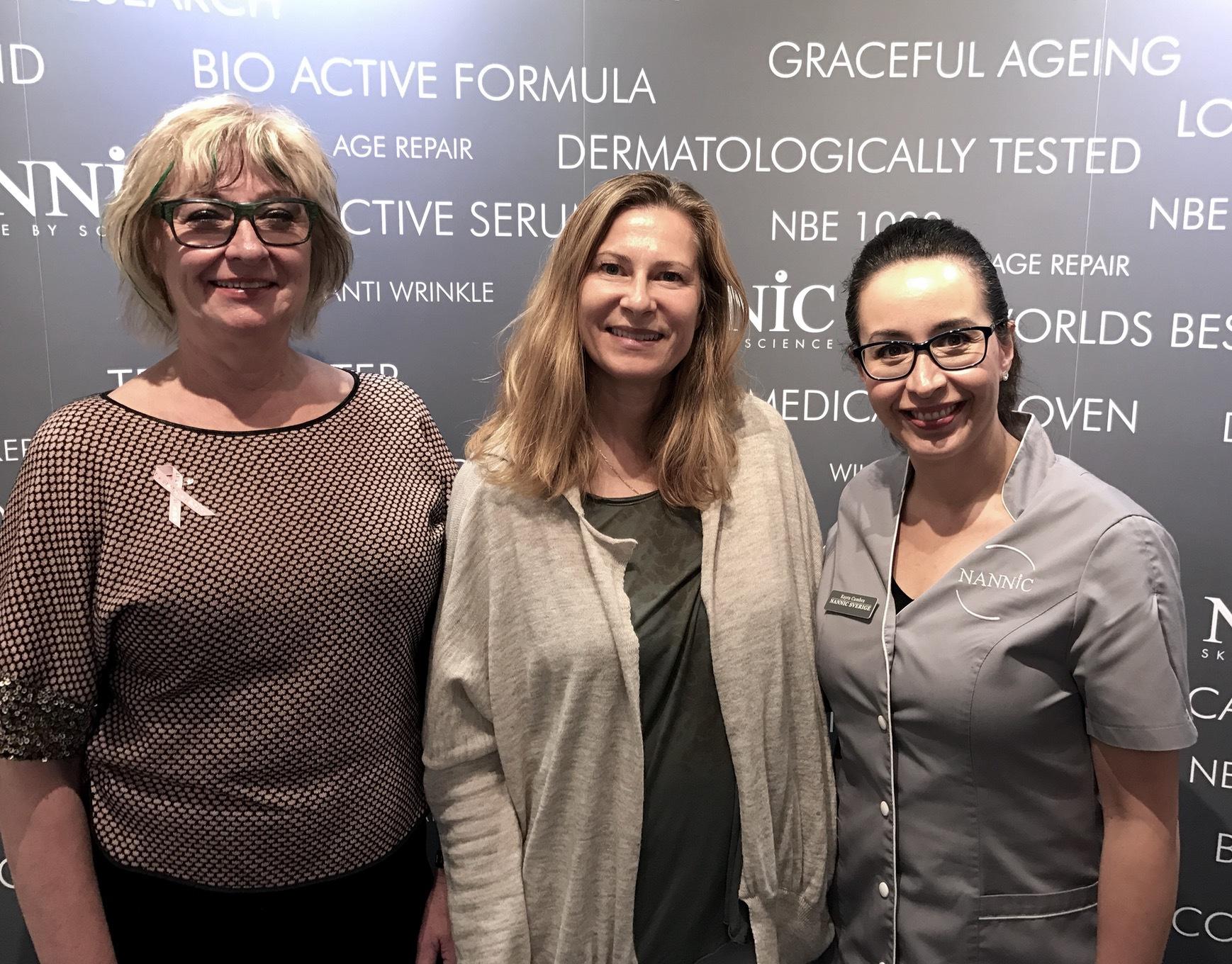 Ann Sundqvist till vänster är VD på Nannic Sverige och var den som tog metoden till Sverige 2009. Nu finns Nannic i 32 länder.