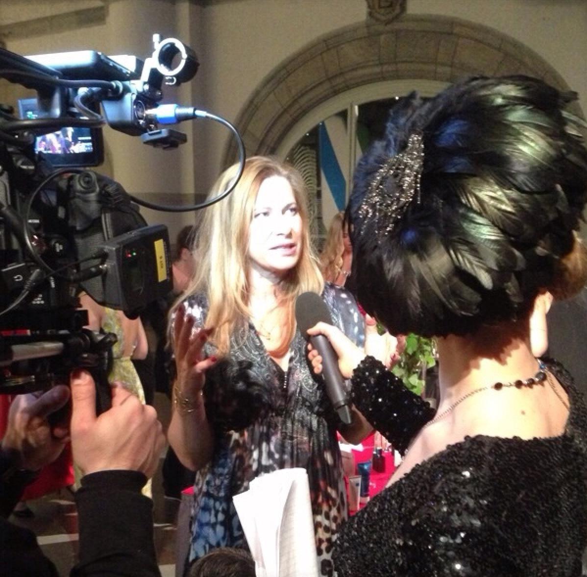 Interjuad i tv om mitt arbete i Swedish Beauty Awards
