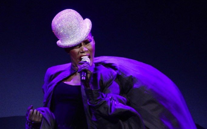Grace Jones. Photo via: The Pool