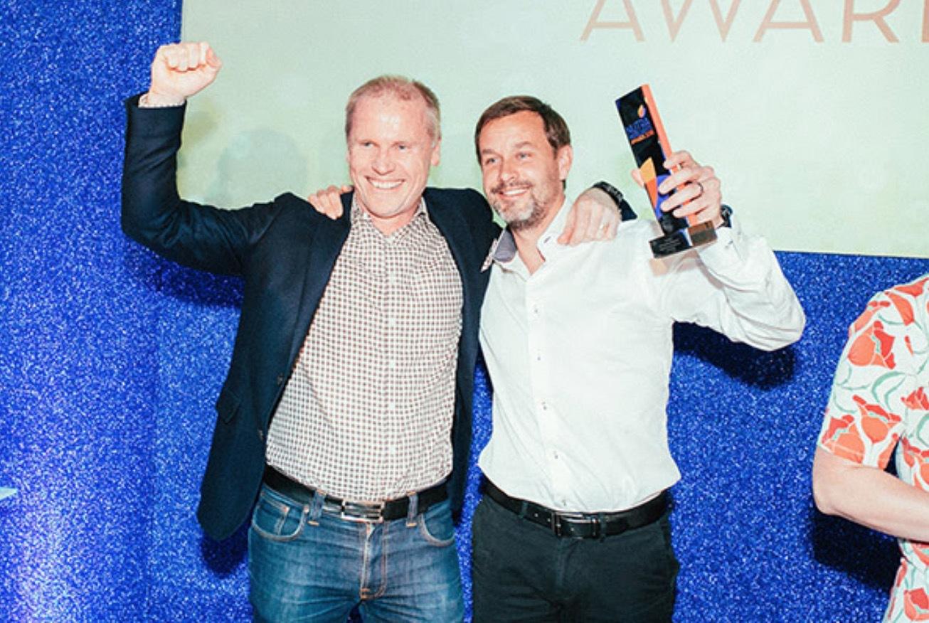 Svenska Nutrinovate har bara funnits i två år men har redan vunnit det mest prestigefulla priset i branschen Nut