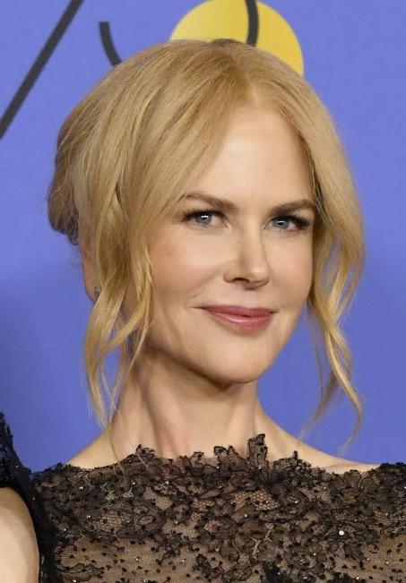 Nicole fick chansen att känna på lite svensk hårvård under Golden GLobe -galan i våras! Oklart vad hon tyckte! Bild från Getty Images